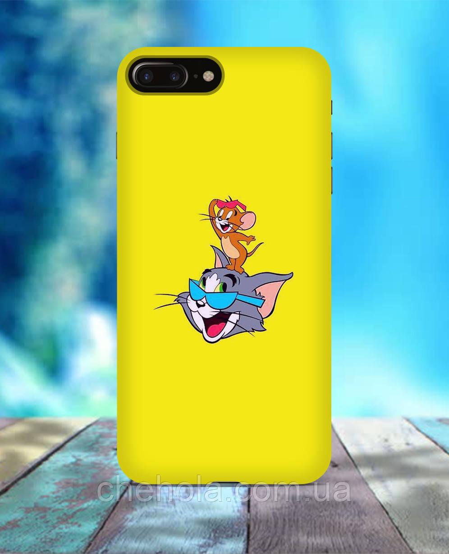 Чехол для iPhone 7 8 7 Plus 8 Plus Том и Джерри