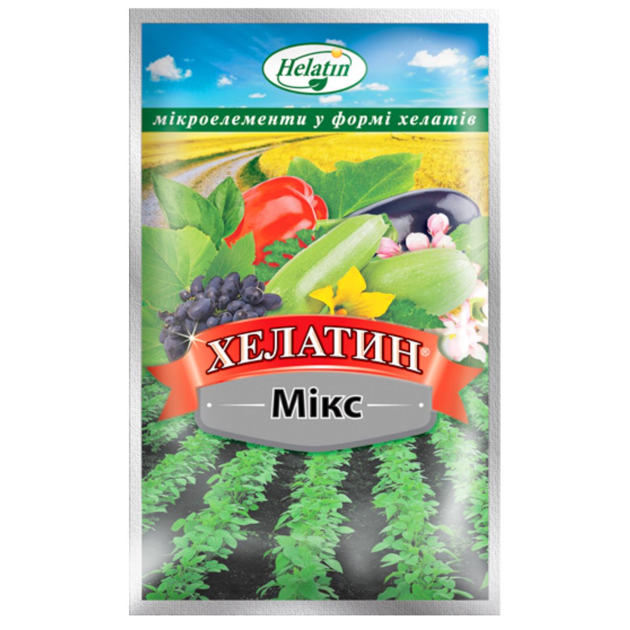 Удобрение Хелатин Микс 50 мл