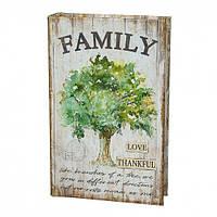 Книга-сейф Семейное дерево, фото 1