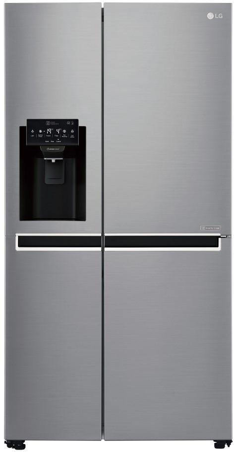 Холодильник з морозильною камерою LG GSL761PZUZ