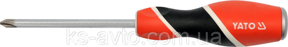 Отвёртка ударная крестовая РН3х150мм YATO
