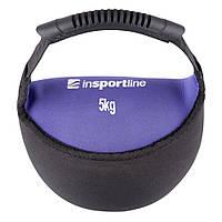 Неопреновая гиря inSPORTline Bell-bag 5кг