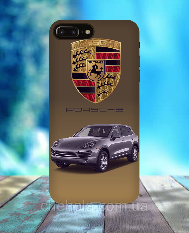 Чехол для iPhone 7 8 7 Plus 8 Plus Porsche Cayenne
