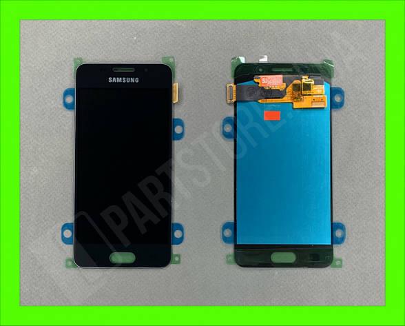 Дисплей модуль Samsung SM A310 OLED A3 Black 2016, фото 2