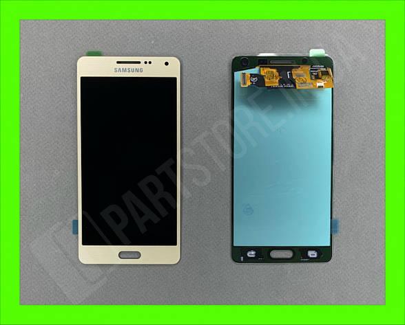 Дисплей модуль Samsung SM A500 OLED A5 Gold 2015, фото 2
