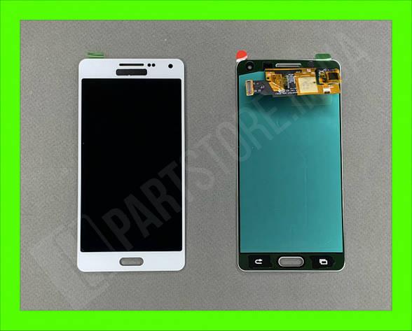 Дисплей модуль Samsung SM A500 OLED A5 White 2015, фото 2