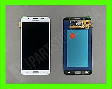 Дисплей модуль Samsung SM J710 OLED J7 White 2016
