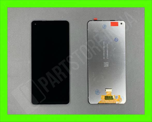 Дисплей модуль Samsung SM А217 OLED А21s Black 2020, фото 2