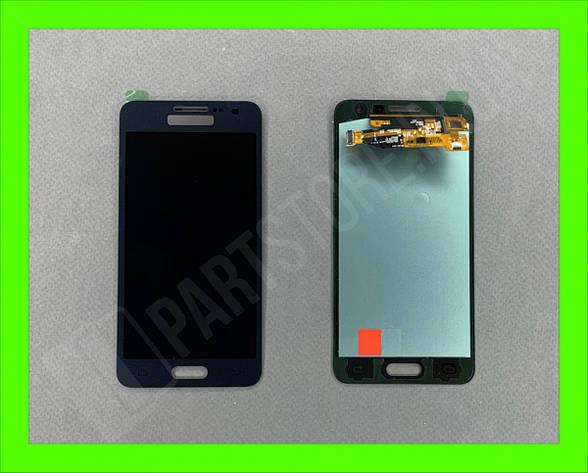 Дисплей модуль Samsung SM А300 OLED А3 Black 2015, фото 2