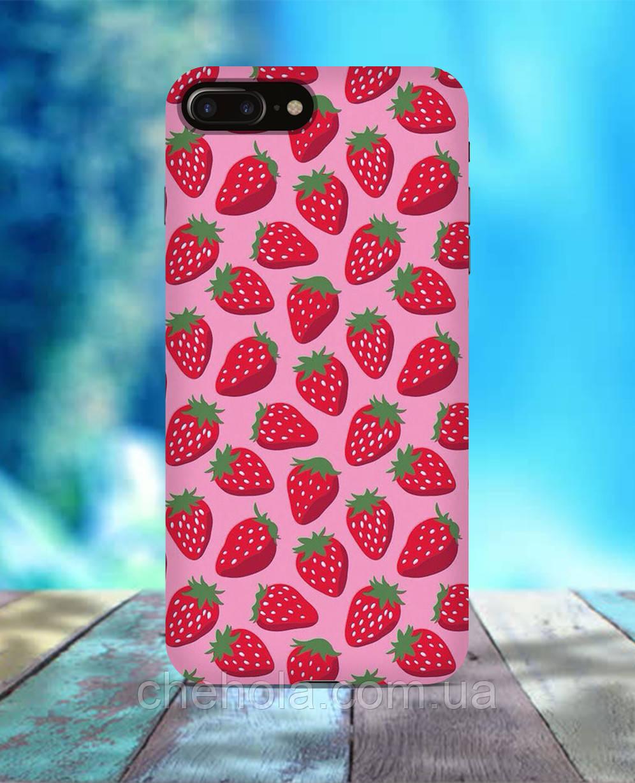 Чехол для iPhone 7 8 7 Plus 8 Plus Клубника летний