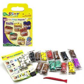 "Набор теста для лепки ""Clay Fridge Magnets: Фрукты"" с магнитами 302-2B"