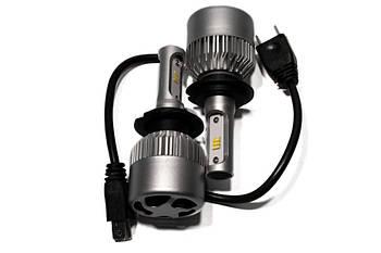 "Лампа LED H7 вентилятор 4000Lm ""S1"" /CSP/36W/5000K/IP65/9-36v (2шт) EA 6міс.гарантії"