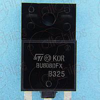 Транзистор Дарлингтона NPN 700В 8А ST BU808DFX TO3P б/у