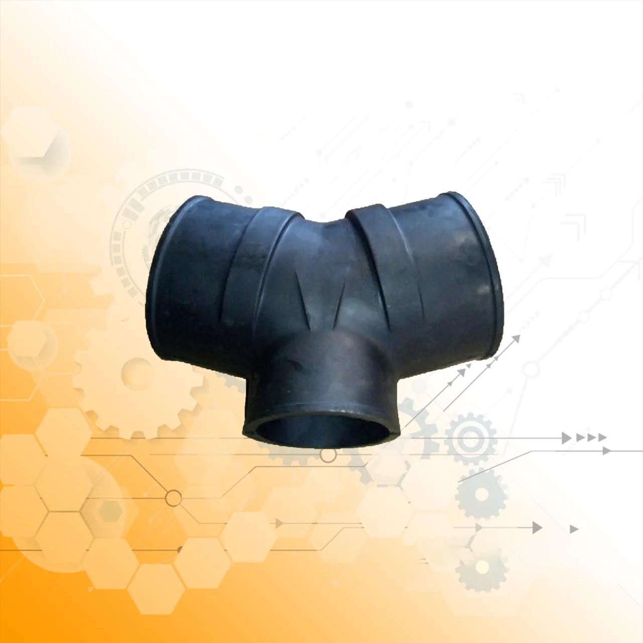 Тройник воздухозаборника (резиновый) 260-1109764