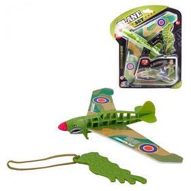 """Игрушка """"Рогатка-самолет"""", зеленый ESA515"""