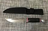 Охотничий нож Олень FB604 / АК-19 / 22,5см с чехлом, фото 3