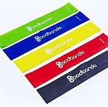 Набор лент-эспандеров резинок для фитнеса BodBands 5 шт, фото 2