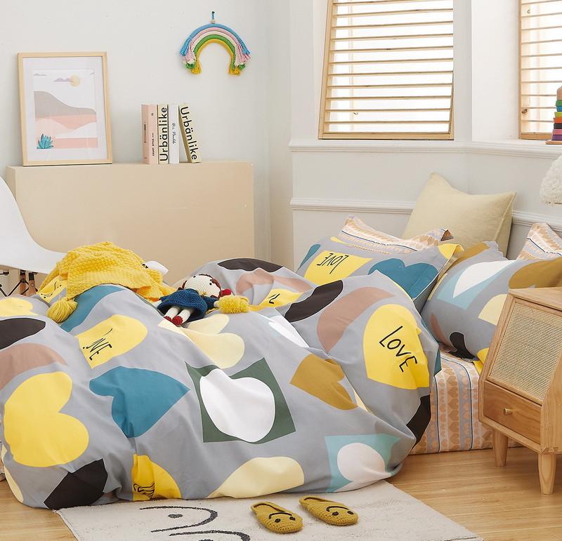 Комплект постельного белья Bella Villa Сатин 200 x 220  B-0283 Eu