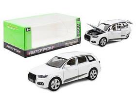 "Машина ""Audi"", белая 7689"