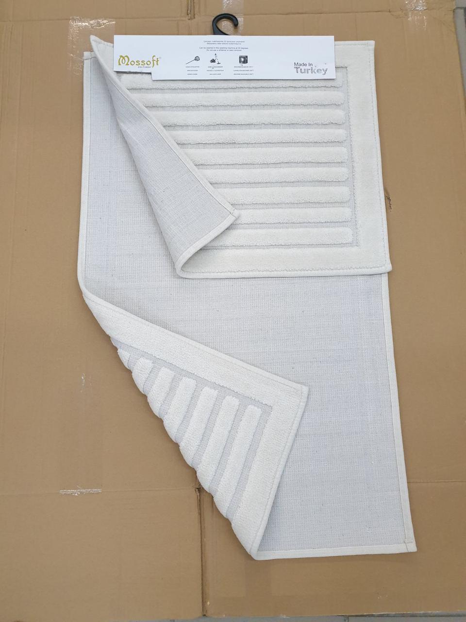 Набор ковриков  COTTONI крем 50х60 и 60х100