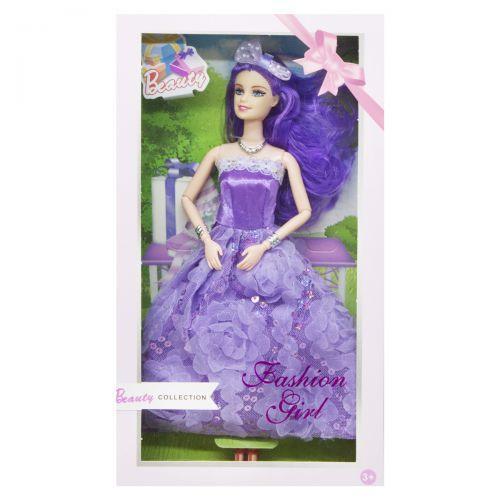 """Кукла """"Beauty"""", в фиолетовом 886B"""