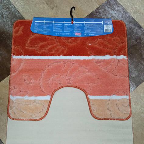 Коврик для ванной комнаты Volandi orange/11438 60x100, фото 2