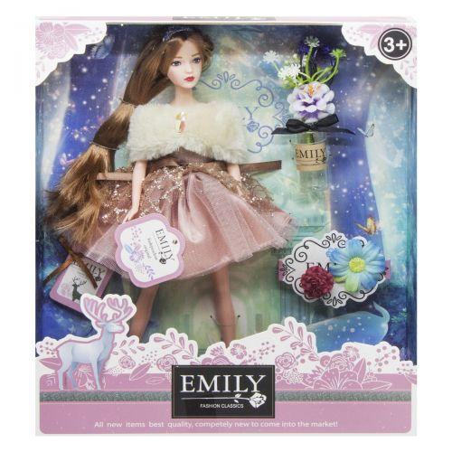 "Кукла ""Emily Fashion Classics"", с цветами QJ087A"