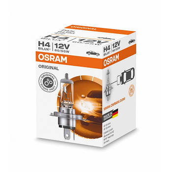 "Лампа H4 12V 60/55W Original Line ""Osram"" (1шт) (64193) (червона уп)"
