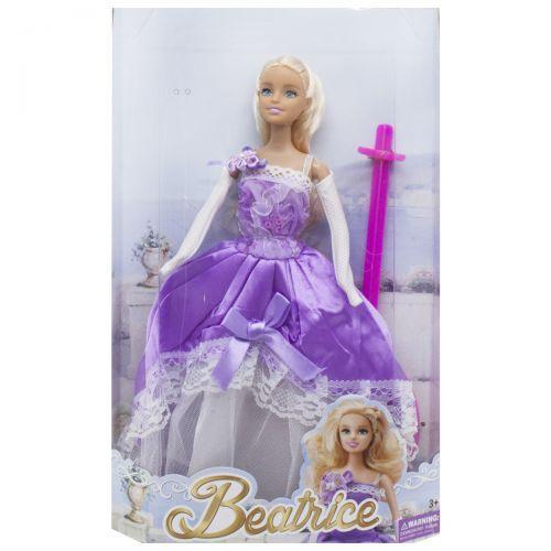 """Кукла """"Beatrice"""", в фиолетовом 3212ABCD"""