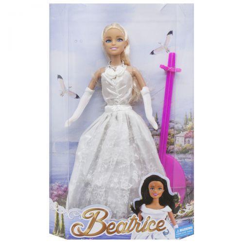 """Кукла """"Beatrice"""", в белому 3212ABCD"""