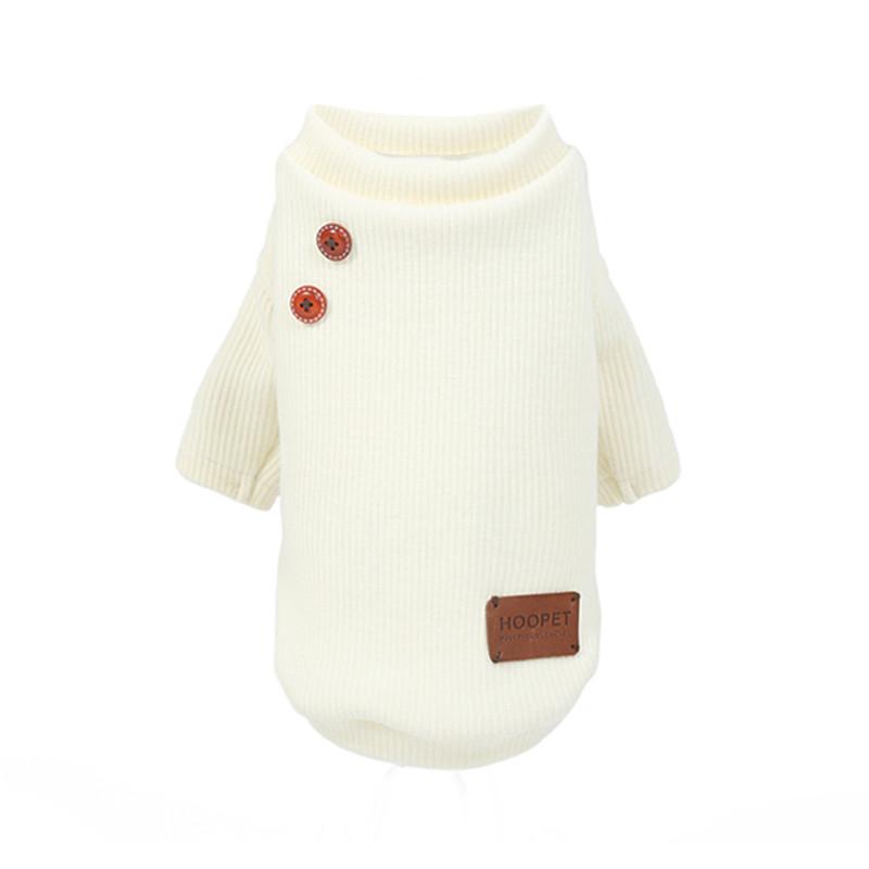 Свитер для домашних животных Hoopet HY-1277 Beige XS весенний пуловер