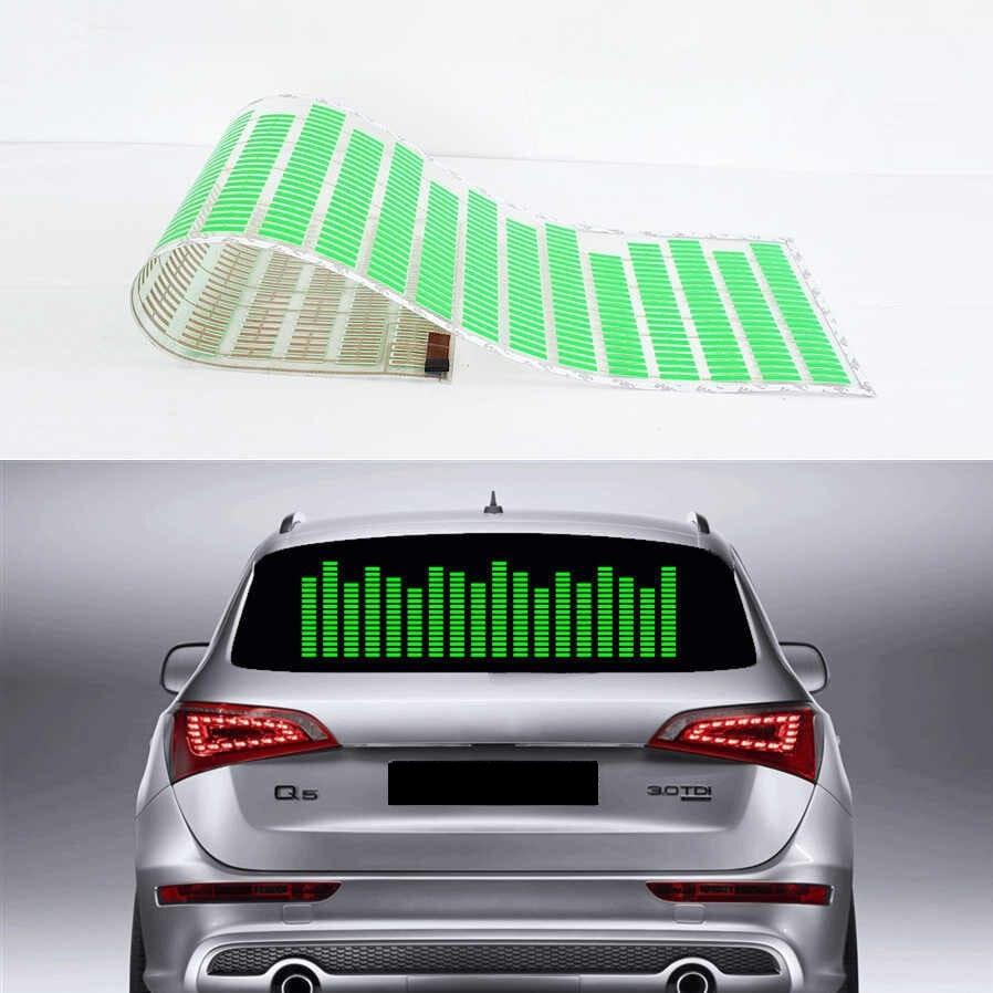 Эквалайзер на стекло авто Зеленый