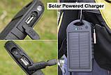 Power Bank 10000 mAh на солнечных батареях, фото 6