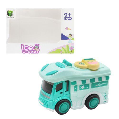 """Машинка """"Мороженое"""", бирюзовый 2618"""