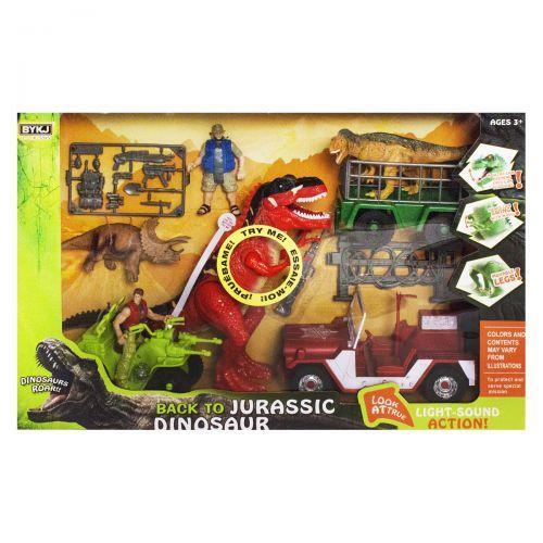 """Игровой набор""""Back to Dinosaur"""", красный 7733A/B"""