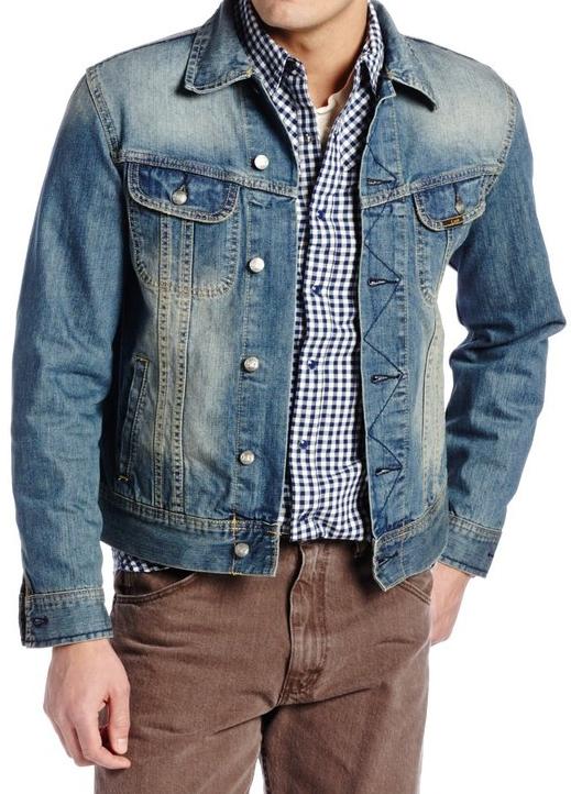 Джинсовая куртка Lee - Bossman ( XXL)