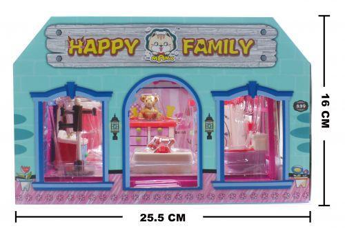"""Игрушечная комната """"Нappy Family: Ванная комната"""". HY-043AE"""