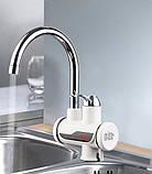 Мгновенный проточный водонагреватель с дисплеем, фото 2