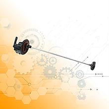Кран розподільний КрАЗ з топливозаборником L=500мм 257-1104469-12