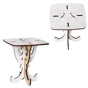 Деревянная мини стол для кукол Б48б