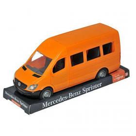 """Автомобиль """"Mercedes-Benz Sprinter"""", оранжевый 39718"""