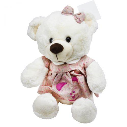 """Мягкая игрушка """"Мишка"""", в розовом платье B1014"""