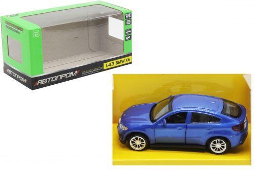 """Машина металлическая """"BMW X6"""", синий 4306"""