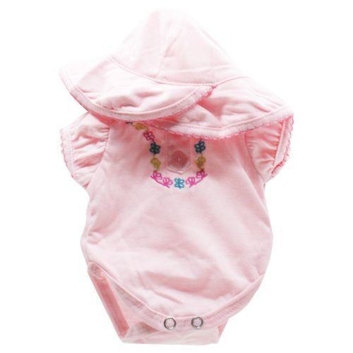 Одежда для пупсика: розовый комбинезончик BJ-10