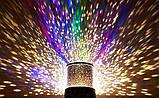 Ночник проектор звездного неба Star Master  USB шнур  адаптер, детский светильник, проектор звездного неба,, фото 8