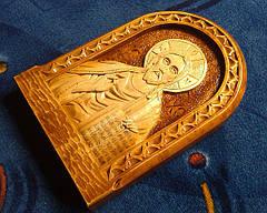 """Икона резная """" Иисус Христос"""" сувенирная, фото 2"""