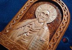 """Икона резная """" Иисус Христос"""" сувенирная, фото 3"""