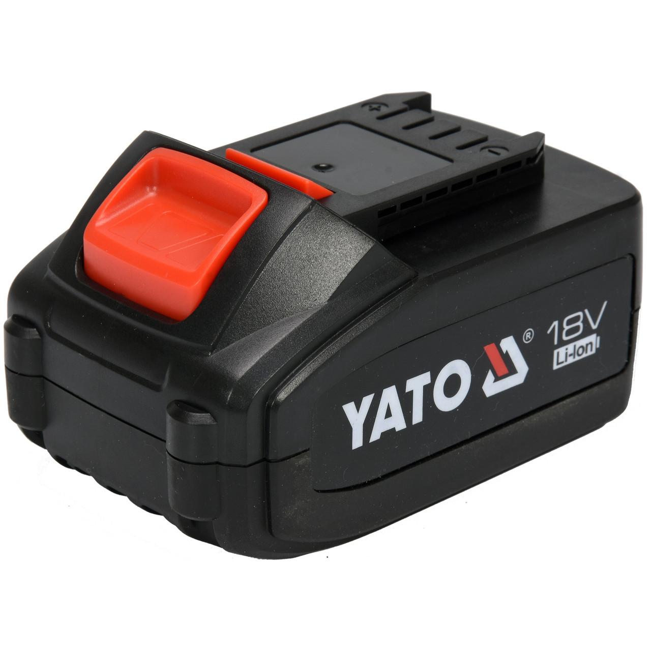 Акумулятор YATO Li-Ion 18 4 Ач (YT-82844)