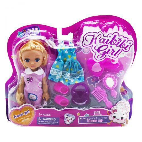 """Игровой набор с куклой """"Sweet girl"""", в розовом BLD227"""