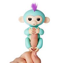 Умная игрушка обезьянка Fingerlings Monkey, Говорящая Обезьянка повторюшка, обезьянка Fingerlings, Fingerlings